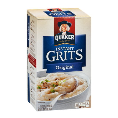 Quaker Instant Grits Original - 12 CT