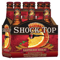 Shock Top Raspberry Wheat Ale Beer Bottles 12 oz, 6 pk