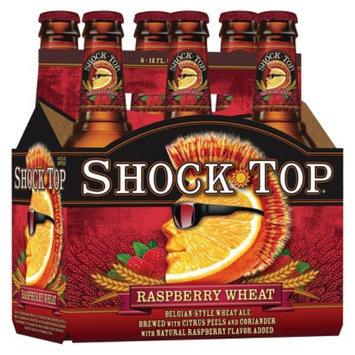 Shock Top Raspberry Wheat Ale Beer Bottles 12 oz, 6 pk
