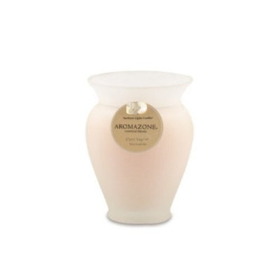 Northern Lights Candles - AromaZone Medium Vase - Clary Sage & Nectarine