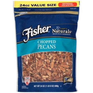 John B Sanfilippo Fisher Chef's Naturals Chopped Pecans, 24 oz