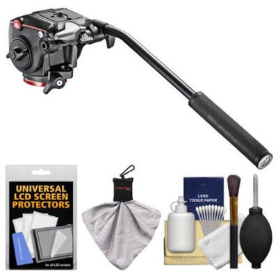 Manfrotto XPRO Video Fluid Head with Cleaning Kit
