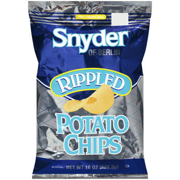 Snyder of Berlin Rippled Potato Chips, 10 oz