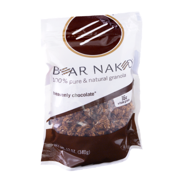 Bear Naked Heavenly Chocolate 100% Pure & Natural Granola