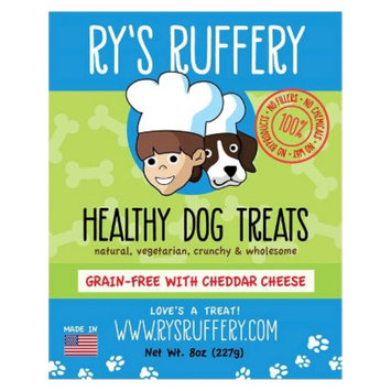 Ryan's Barkery Shark Tank Ry's Ruffery Healthy Dog Treats - Cheddar Cheese