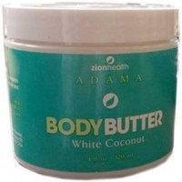 Adama Body Butter White Coconut Zion Health 4 fl oz Cream
