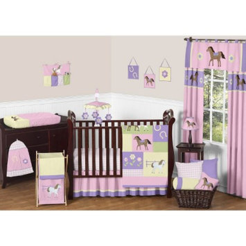 Sweet JoJo Designs 11pc Pony Crib Set