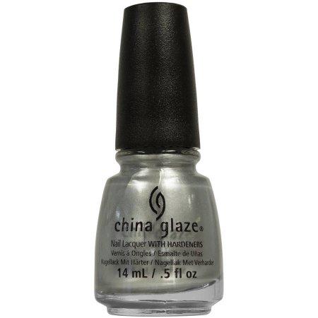 China Glaze Nail Polish, Platinum Silver