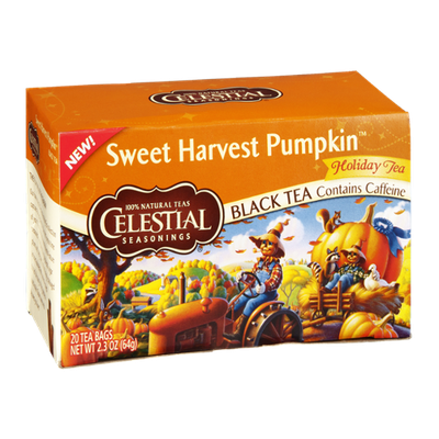 Celestial Seasonings® Sweet Harvest Pumpkin Black Tea