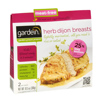 Gardein Herb Dijon Breasts 25% Less Sodium - 2 CT