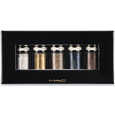 MAC Nocturnals Green and Teal Glitter Pigment Holiday Collection Set