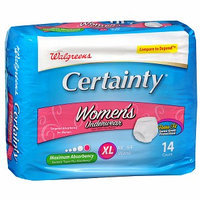 Walgreens Certainty Women's Underwear