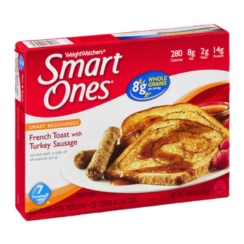 Weight Watchers Smart Ones French Toast with Turkey Sausage