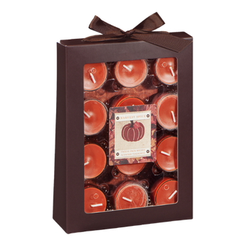 Ahold Harvest Spice Richly Scented Tealights - 12 CT