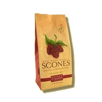 Made In Washington Sticky Fingers Red Raspberry Scone Mix 15 oz Bag