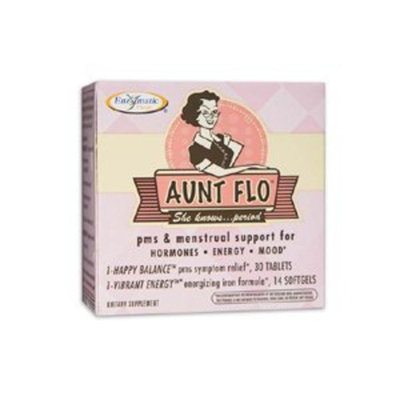 Aunt Flo Enzymatic Therapy Inc. 1 Kit 30 Day