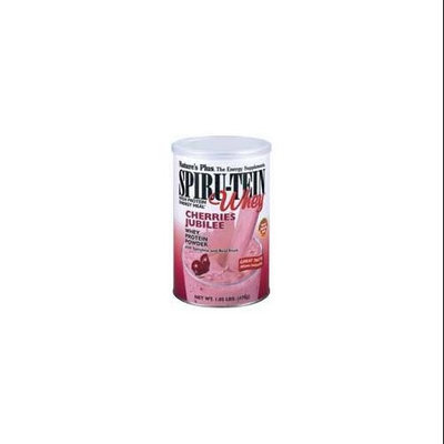 Spirutein Whey Cherries Jubilee Nature's Plus 8 Pack