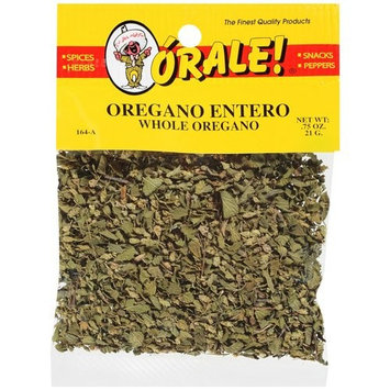 Orale Whole Oregano, .75 oz