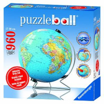 Ravensburger Puzzleball - The Earth: 960 Pcs Ages 14+, 1 ea