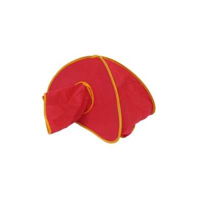 Sportpet Crinkle Cat Cave - Red