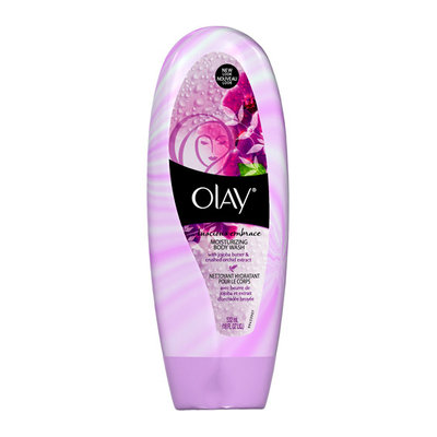 Olay 2-in-1 Essential Oils Ribbons Jojoba Extract + Luscious Orchid Moisturizing Body Wash 18 Oz