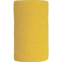 Andover Healthcare Co-flex Animal Bandage Yellow 4 Inch Pack Of 18 - 3400YL