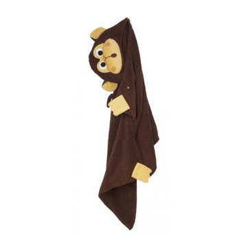 Zoocchini 11114 Chippy the Chimp Hooded Towel - 50 x 22 in.