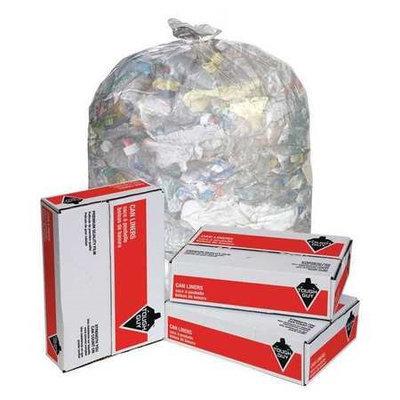 TOUGH GUY 4YPC9 Trash Bags,65 gal,2.0 mil, PK50