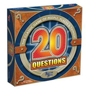 20 Questions Game Ages 8 and up, 1 ea