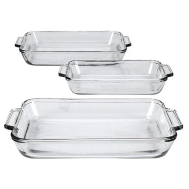 Anchor Hocking 3-pc. Baking Dish Value Pack