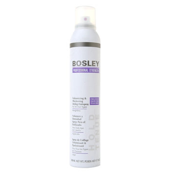 Bosley Professional Strength Volumizing & Thickening Styling Hairspray for All Hair Types