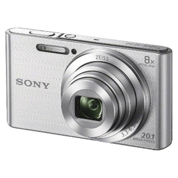 Sony Cybershot DSCW830 20.1MP Digital Camera with Camera Case and 8GB