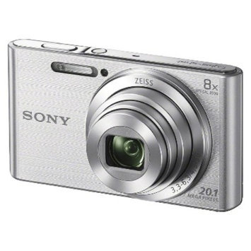 Sony Cybershot DSCW830 20.1MP Digital Camera with Camera Case and 8GB