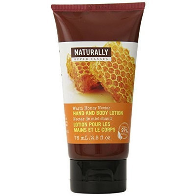 Upper Canada Naturally Hand and Body Lotion, Warm Honey Nectar, 2.5-Fluid Ounce (Pack of 5)