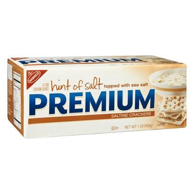 Nabisco Premium Hint of Salt Saltine Crackers