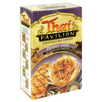 Thai Pavilion Peanut Satay Simmer Sauce with Noodles, 6.7-Ounce Boxes (Pack of 6)