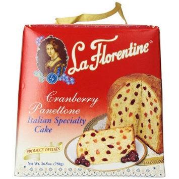 La Florentine Panettone, Cranberry, 26.5 Ounce