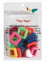 Caitec Bird Toys Caitec 549 1 in. Square Ring - Pack of 16