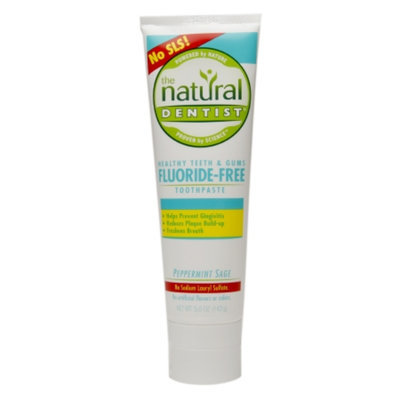 The Natural Dentist Healthy Teeth & Gums Fluoride Free Toothpaste