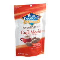 Blue Diamond Almonds Oven Roasted Cafe Mocha Coffee Almonds