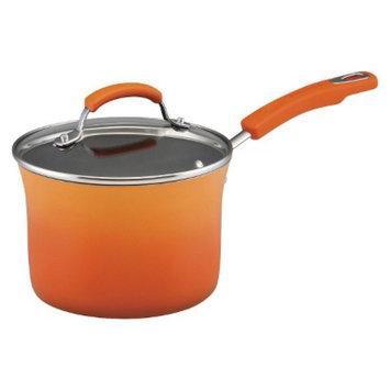 Rachael Ray 3 Quart Saucepan - Orange