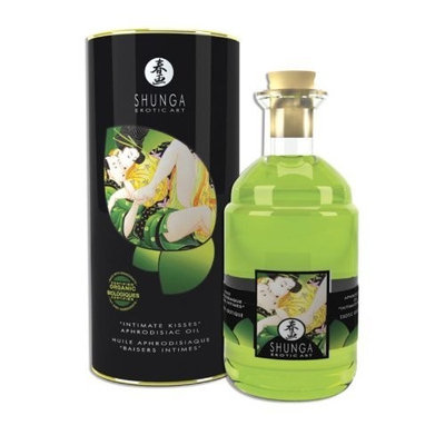 Shunga Green Tea Organica Aphrodisiac Oil 3.5 FL. Oz