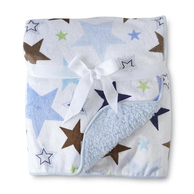 Cuddletime Infant's 2 Ply Valboa Fleece Blanket Stars - TRIBORO ... : triboro quilt - Adamdwight.com
