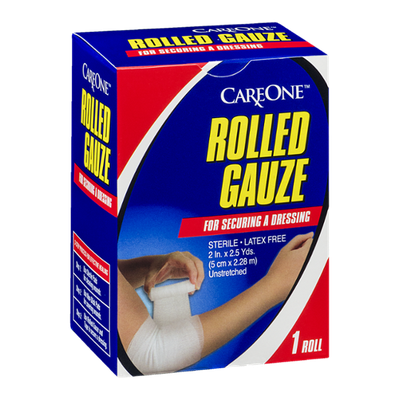 CareOne Rolled Gauze