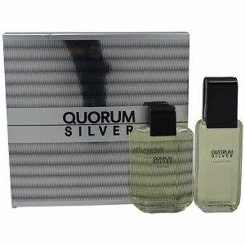 Antonio Puig Quorum Silver Gift Set, 1 set