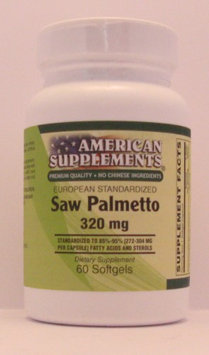 Saw Palmetto Berry Extract 320 MG No Chinese Ingredients American Supplements 6