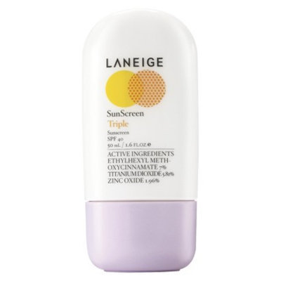 LANEIGE Triple Sunscreen SPF 40