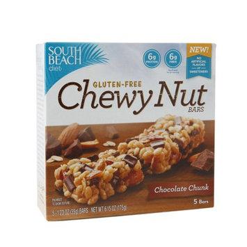 South Beach Diet Gluten-Free Chewy Nut Bars, Chocolate Chunk, 5 ea