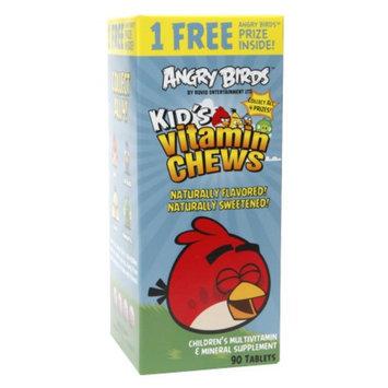 Natrol Angry Birds Kid's Vitamin Chews, 90 ea