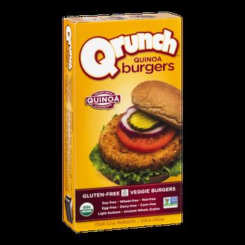 Qrunch Quinoa Burgers - 4 CT